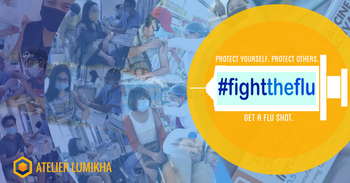 #FighttheFlu - Atelier Lumikha protects employees with free vaccine this flu season
